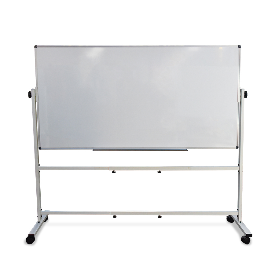 Double-Sided Whiteboard 1800 x 900mm with Mobile Stand
