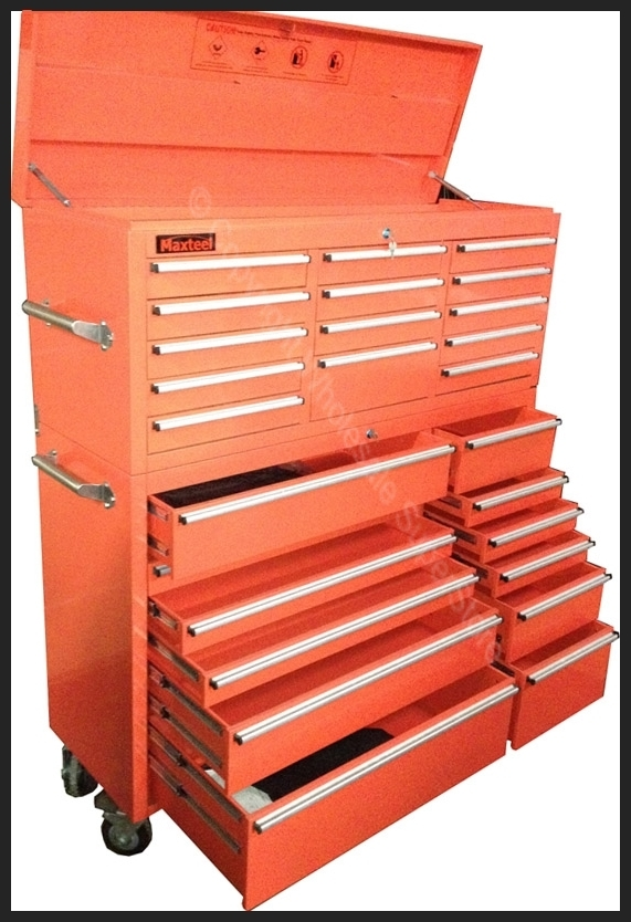 Toolbox - Maxteel - 26 Drawer [COLOUR: YELLOW]