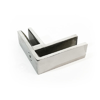 12mm Glass Clamp | 90° - Stainless Steel Balustrading