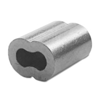 Nickel Plated Copper Swage (Ferrules) M3.2 - Stainless Steel Balustrading