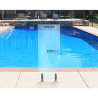 500mm x 1200mm Glass Panel