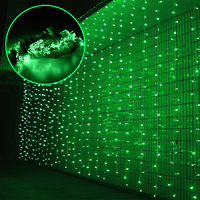 Curtain Lights 6x3m 800 LED (Green)