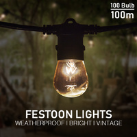 Festoon Lights 100m
