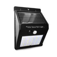 Solar Sensor Wall Light | 20 LED