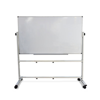 Double-Sided Whiteboard 1500 x 900mm with Mobile Stand