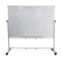 Double-Sided Whiteboard 1800 x 1200mm with Mobile Stand