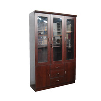 Glass Door Cabinet | 1200mm Width | Timber Veneer