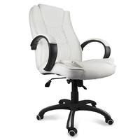 Deluxe Executive Office Chair - White