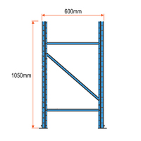 Longspan Racking Frame - 1050mm x 600mm