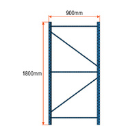 Longspan Racking Frame - 1800mm x 900mm