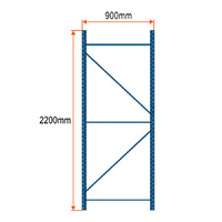 Longspan Racking Frame - 2200mm x 900mm