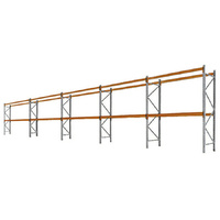 PALLET RACKING - 5 Bays 3658mm High