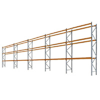 PALLET RACKING - 5 Bays 4877mm High