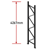 Pallet Racking Frame - 4267mm - Zinc Plated