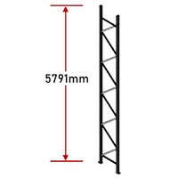 Pallet Racking Frame - 5791mm - Zinc Plated