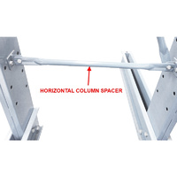 HORIZONTAL BRACE - Creates 1500mm wide bay GALV