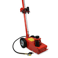 22 Ton Air/Hydraulic FLOOR JACK + 4 dies