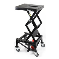 Motorcycle Scissor Lift Table BLACK