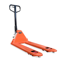 Pallet Jack Truck - Narrow Forks 550mm - 3000kg Capacity