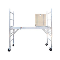 Aluminium Alloy Mobile Scaffold with Hatch -Plywood Deck
