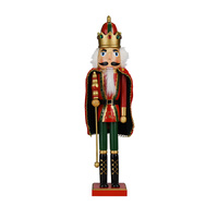 45cm Wooden Christmas Nutcracker King