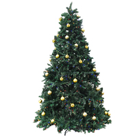 2.25m Christmas Tree - Pre Lit.  Massive 2514 Tips and 680 LED's
